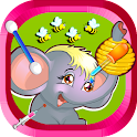 Doctor Game - Jungle Animals icon