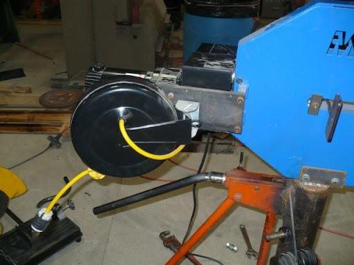 Hobart Tig Welder >> Custom Fab'ed Bead Roller Stand, Engine Stand, and Metal racks