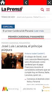 Periódicos de Panamá - náhled