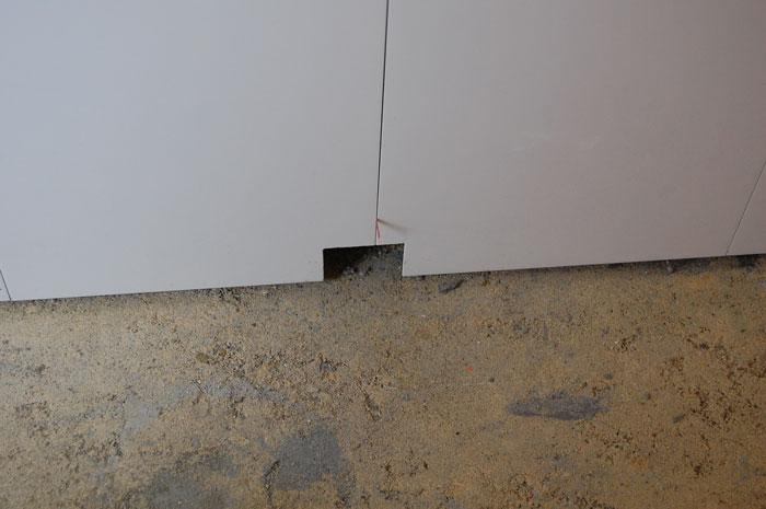 Design Challenges Workmanship Walls Amp Floor