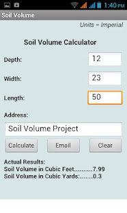 Soil Volume Calculator – Apps on Google Play