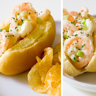 Shrimp Rolls with Homemade Chive Mayo