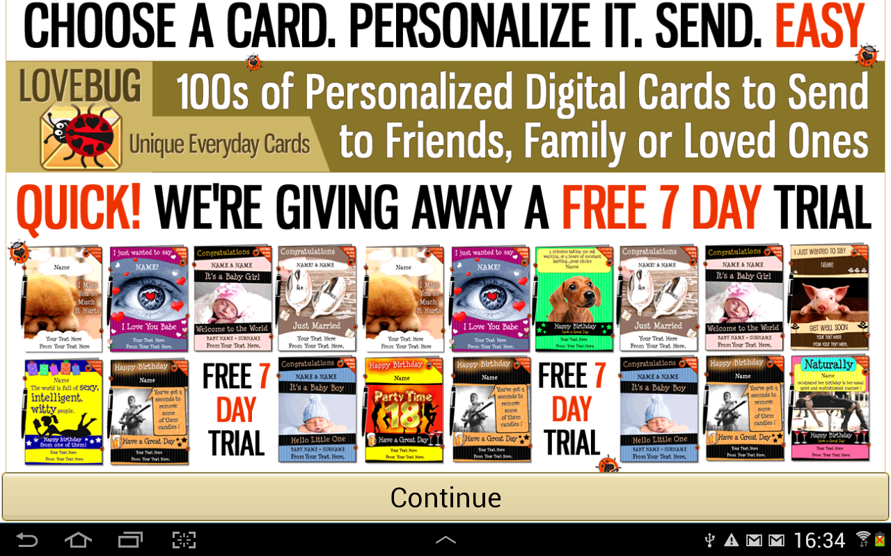 free valentines greeting cards  android apps on google play, Birthday card