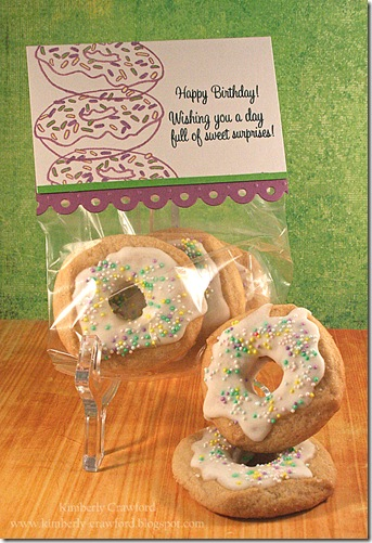 Skipping Stones Donut Cookies