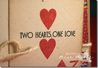 two hearts one love CU sentiment