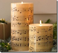 Music Candles Pottery Barn