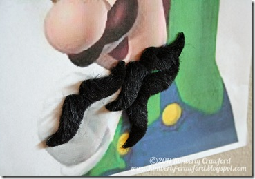 Pin the Moustache