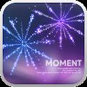 Moment go sms theme icon