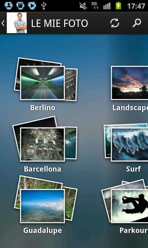 TIM Cloud- screenshot