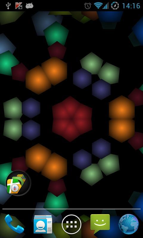 Moving Kaleidoscope LW - screenshot