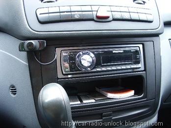 Car Radio Code Calculator: How to install a GPS Pioneer AVIC