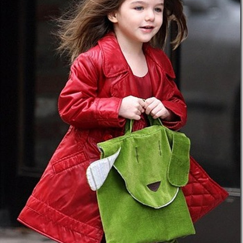 Suri, the daughter of Tom Cruise and Katie Holmes