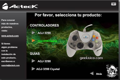 Drivers control Acteck y Project 64 - Electronik-Pro