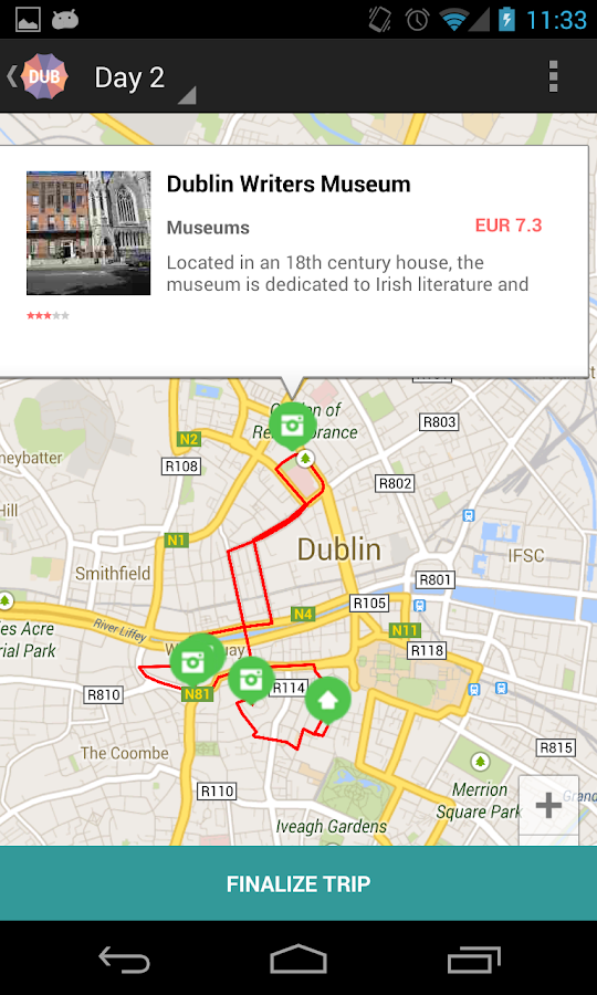 Holidayen Dublin- screenshot