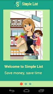 Simple Grocery List CartWheel - screenshot thumbnail
