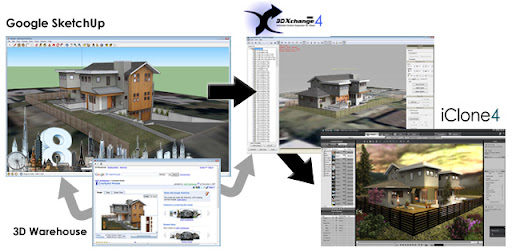iClone 4 PRO & SketchUp - tutorial • sketchUcation • 1