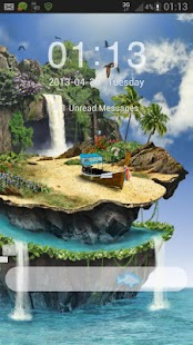GO Locker Theme tropical - screenshot thumbnail