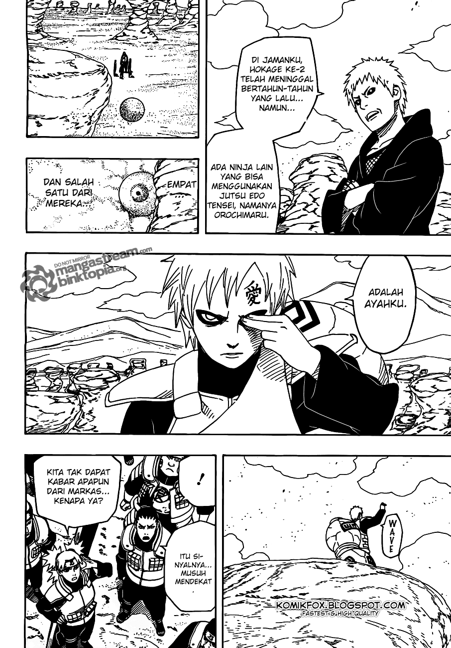 04 Naruto 525   Kebangkitan Para Kage