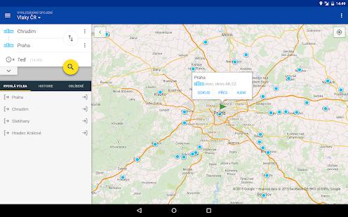 Offline Jízdní řády CG Transit Screenshot 10