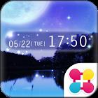 夜空の幻想壁紙 Night sky icon