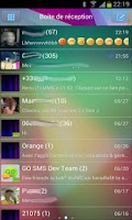 Screenshot of Go SMS Jelly Bean 4.1 theme