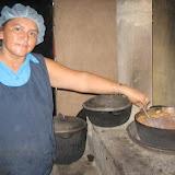 María Auxiliadora cooking lunch