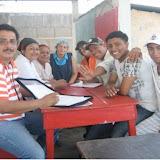 The project team: from right to left Carlos Vidal (psychologist, works for Los Quinchos on the management team), Luz Amanda Cerda (nurse), Jazmina Mejía (educator), María Auxiliadora Martínez (cook), José Francisco Escobar (guard), Daniel Paniagua (Coordinator), Melvin Velásquez (Sports instructor) and Juan Carlos Urbina (hammock and bracelets instructor).