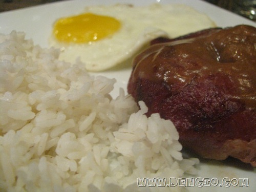 Rice, Burger, Egg...