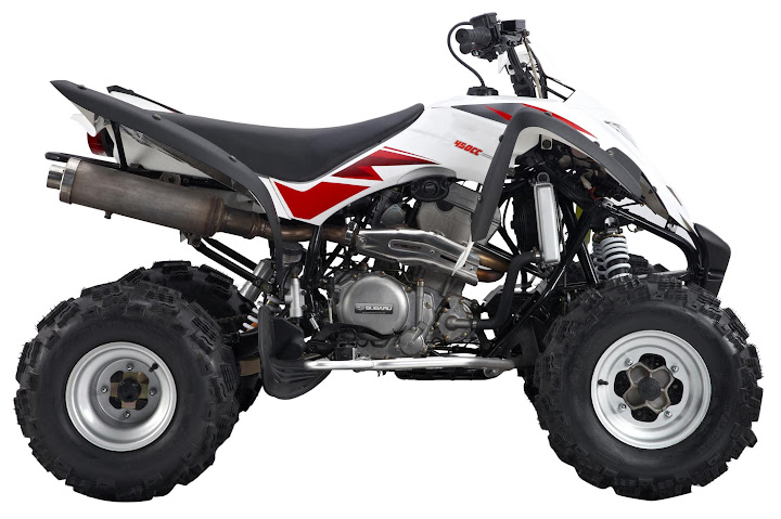 300cc/350cc/ 450cc Large Bore Capacity and High Horsepower