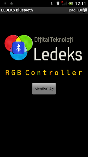 LEDEKS Bluetooth RGB