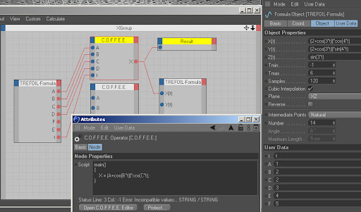 CGTalk | how to output a formula with xpresso?