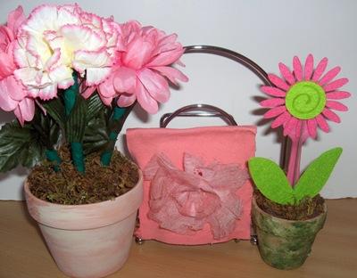 Flower Pot Crafting Recipe