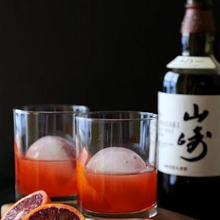 Blood Orange Whiskey Negroni