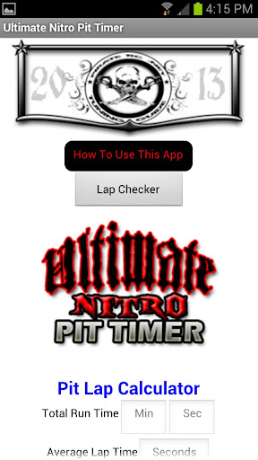 Ultimate Nitro RC Pit Timer
