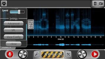 Screenshot of ProSpec - Spectrum Analyzer