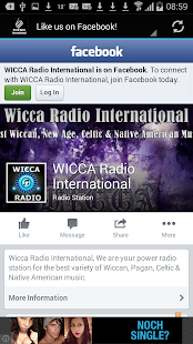 Wicca Radio International- screenshot thumbnail