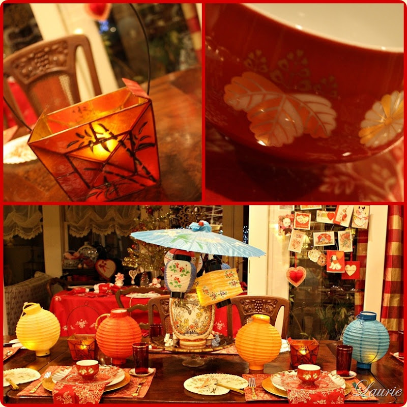 Chinese New Year Tablescape-Bargain Decorating with Laurie