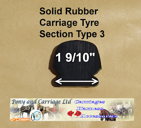 Horse Carriage Rubber Tyre Type 3
