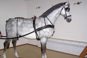 Leather horse harness style 1 carriage driving
