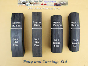 Horse Carriage large  Rubber Tyre l types