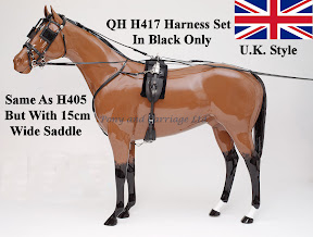 Zilco Racing Trotting Horse Harness QH H417