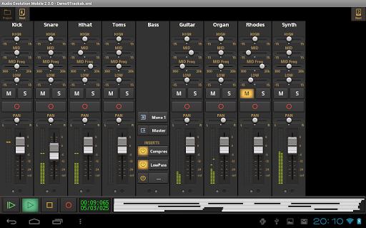 Audio Evolution Mobile Studio TRIAL  screenshots 10