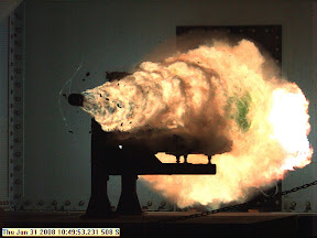 Railgun test