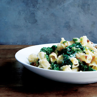 Pasta with Anchovy Butter and Broccoli Rabe.