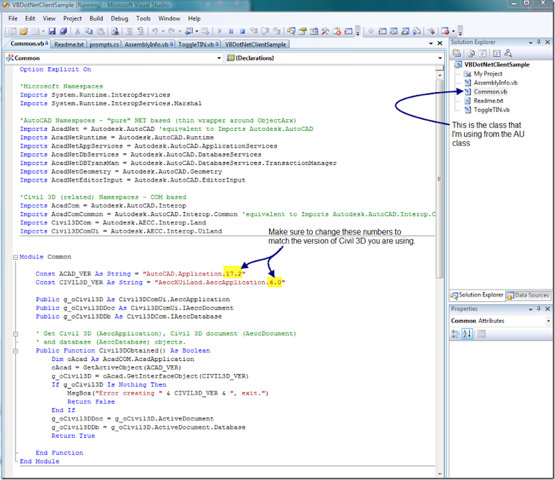 Civil 3D Reminders: vb Net Toggle TIN Triangle Visibility
