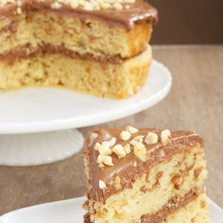Hazelnut Cake with Mocha Frosting