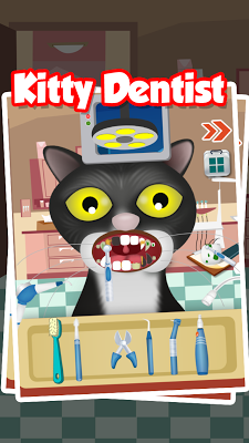 Kitty Dentist - Kids Game - screenshot
