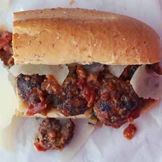 Meatball Sub Sandwich.