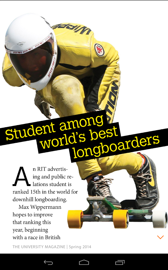 RIT: The University Magazine - screenshot