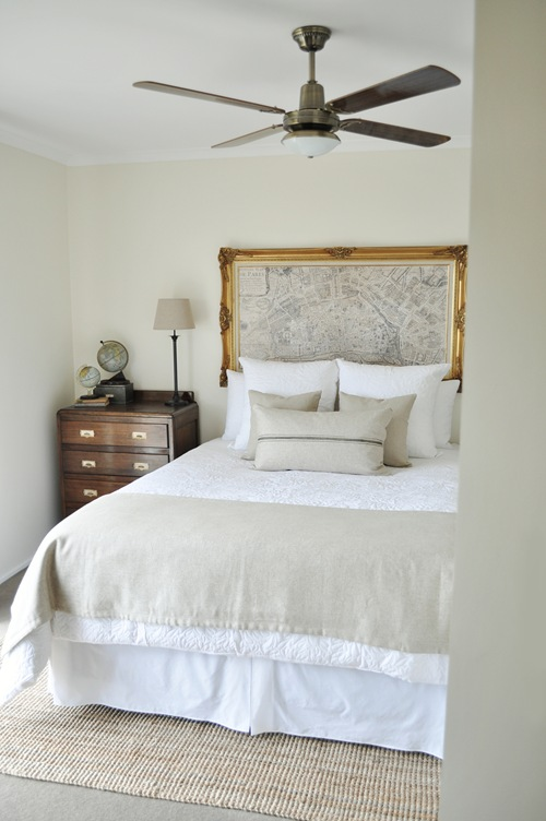 Remodelaholic Painted Hive Master Bedroom Full Reveal And Furniture Redos